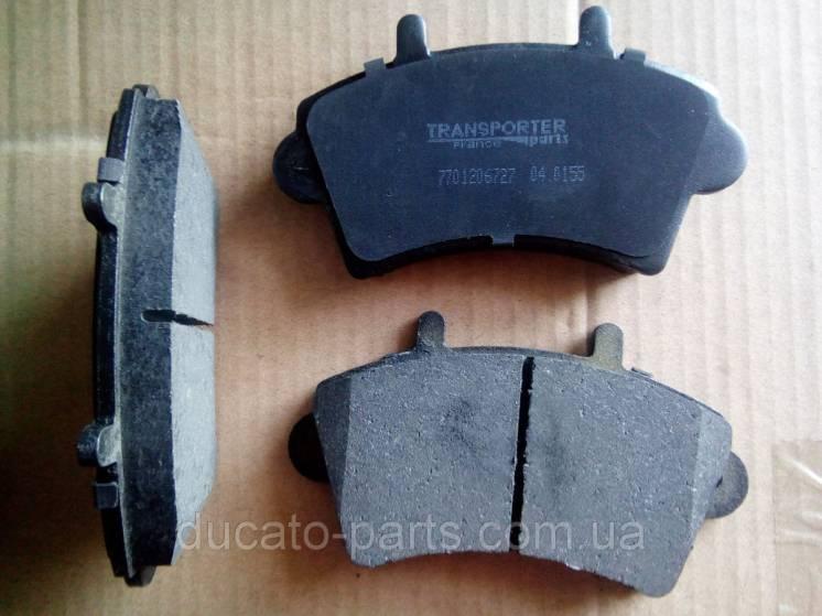 Тормозные колодки передние R-16 Рено Мастер / Renault Master