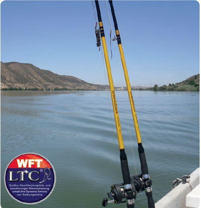 Спининг для ловли сома WFT Jacub Vagner CNC Cat 200-1.000g 3,50m