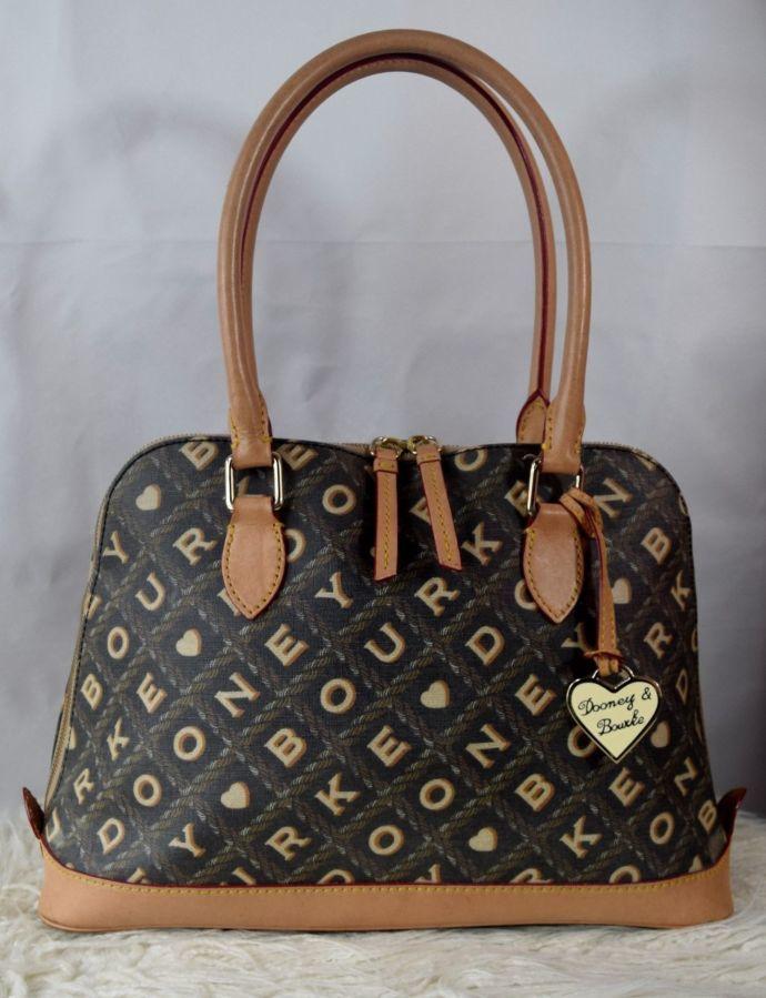 Сумка Dooney and Bourke Large Lara Bag Б/У, оригинал