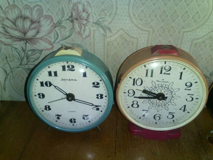 Продам будильники,часы,