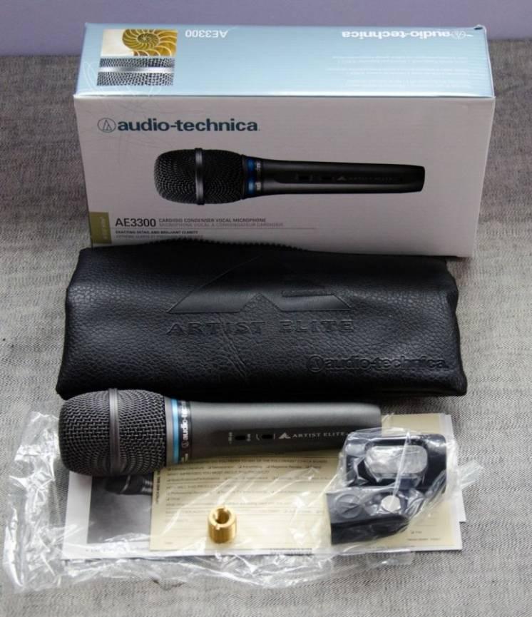 Мікрофон Audio-technica AE3300 оригінал Японія