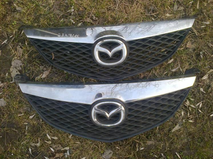 Решетка радиатора Mazda 6 (2002-2008) оригинал