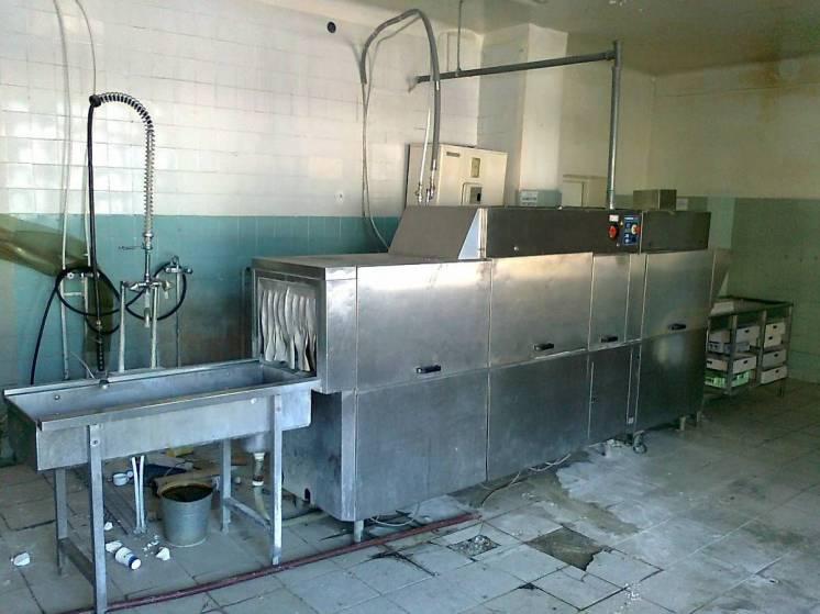 Тоннельная Посудомоечная Машина.