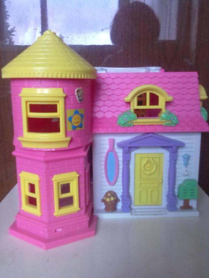 Домик 2 этажа 2 куколки
