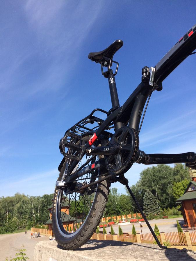 Велосипед складной 20 дюймовыми колёсами   Comanche Lago