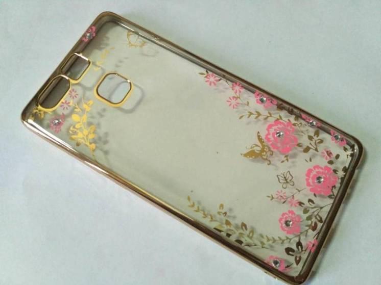 Гламурный чехол бампер Huawei P8/9/10/Lite/Plus