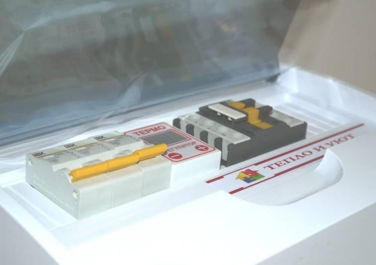 Блок управления электрическим котлом. Термореле.