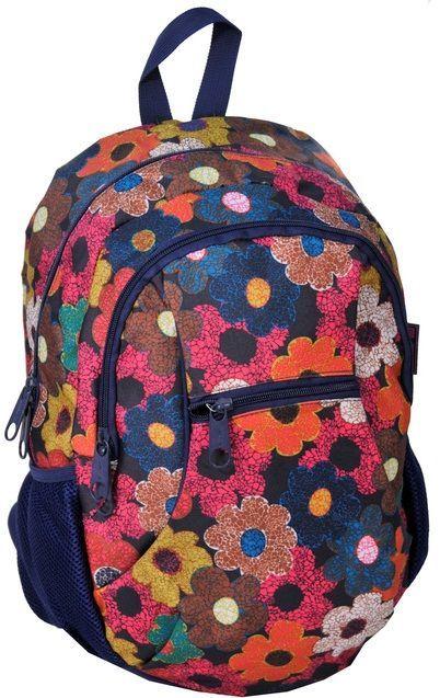 Яркий женский городской рюкзак 20 л Paso 14-178I