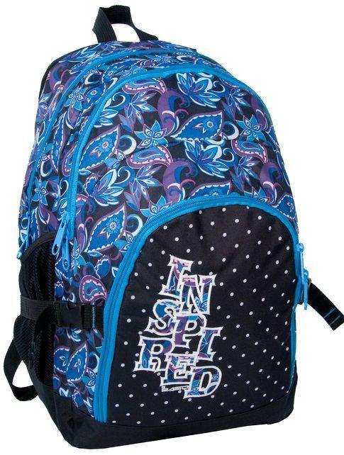 Красочный женский рюкзак с узорами PASO 33L, 14-1208B