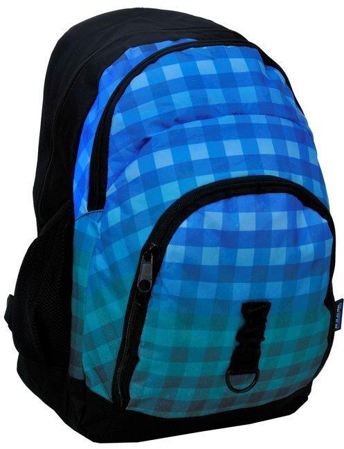 Вместительный городской рюкзак в клетку PASO 33L,14-1208C
