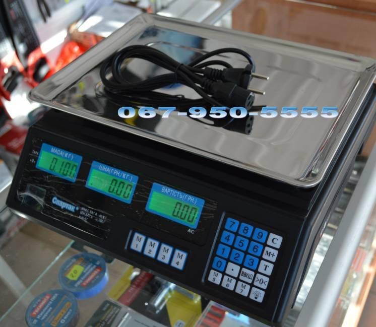 Весы торговые до 40 кг ACS-40