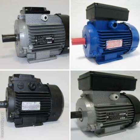 Электродвигатель трехфазный 0.55 квт 3000 об/мин АИР 63 В2
