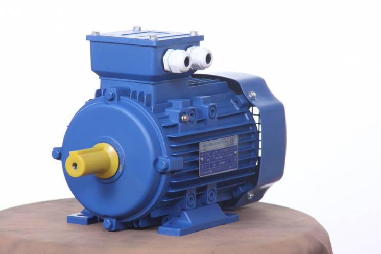 Электродвигатель трехфазный 2.2 квт 3000 об/мин АИР80В2