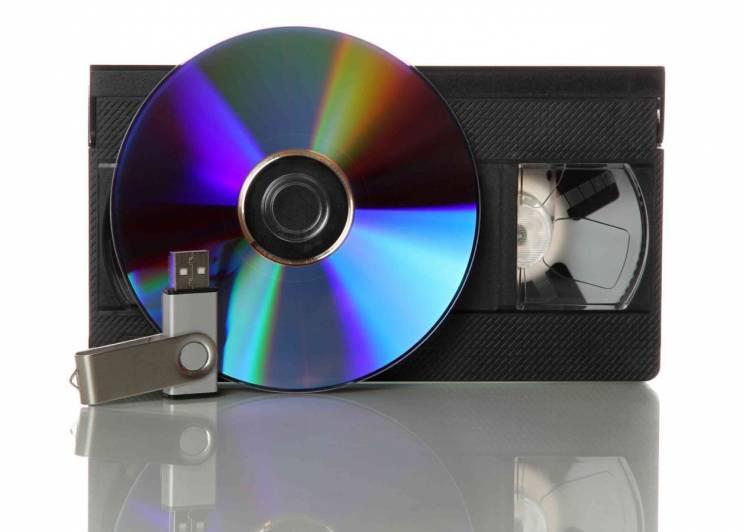 Оцифровка видеокассет формата VHS и VHS-C, фотопленок, слайдов