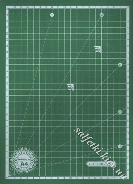 Коврик для резки самовосcтанавливающийся мягкий 3мм 30х22см (А4)