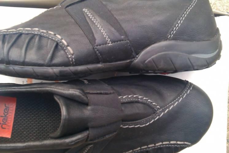 Женские кожаные туфли фирмы RIEKER новые размер 38