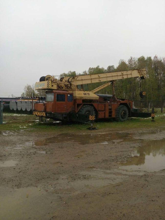 продаю автокран ККС-55 грузоподъём 55тн