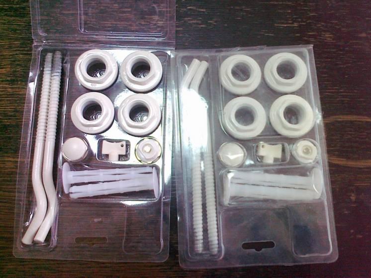 Продам комплектующие для монтажа батарей отопления