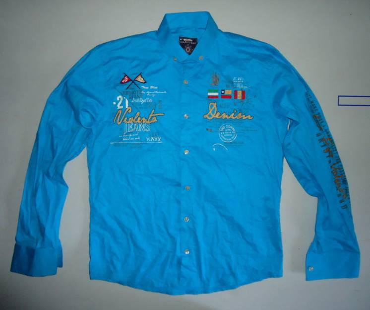 Рубашка Violento Sport с дл. рукавом (L)