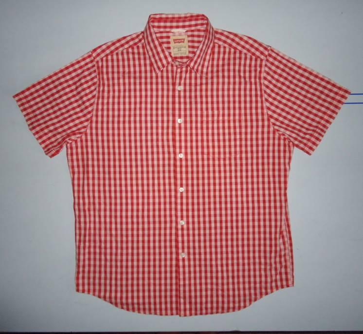 Рубашка LEVIS в клетку (L)