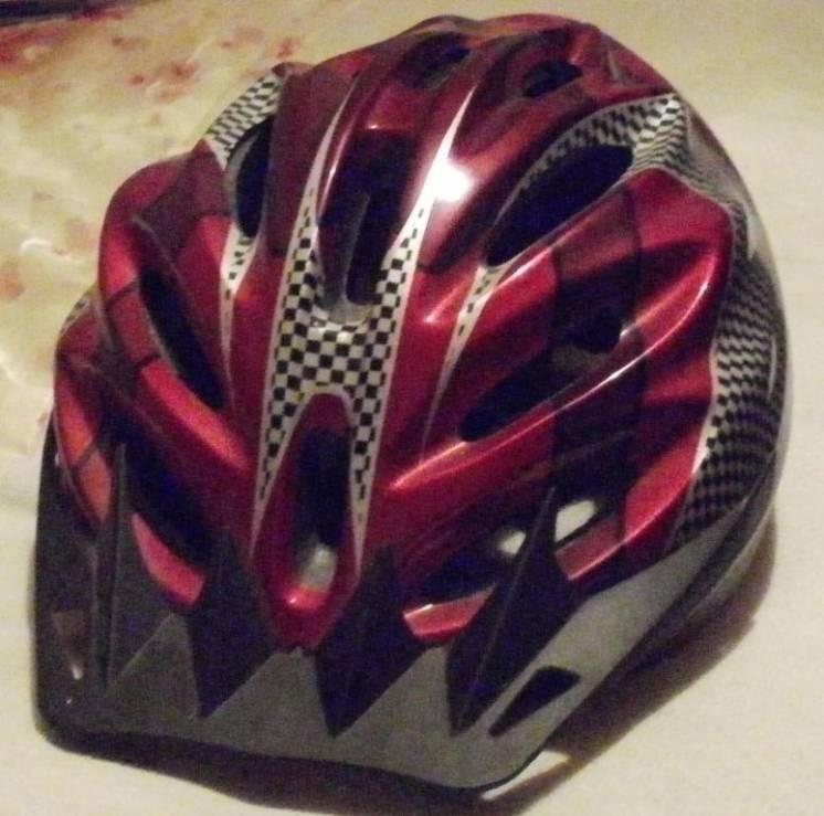 Велошлем новый