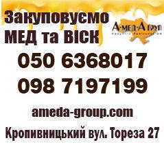 Куплю мед липовий оптом АМЕДА ГРУП