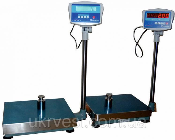 Весы товарные Certus СНК-150А50 (ЖК) для склада