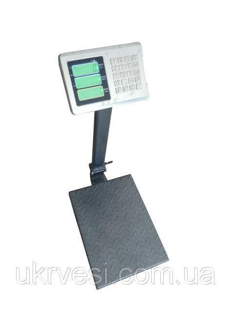 Товарные весы ВПЕ-Центровес-405-150-ДВ-Э  до 150 кг.