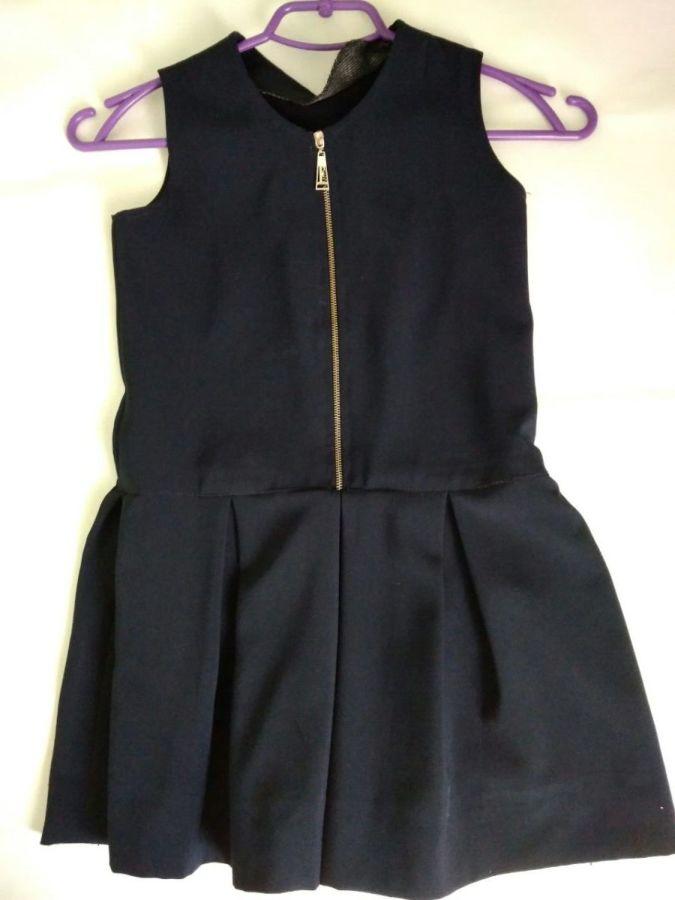 Школьная форма для девочки 5 вещей пиджак, жилетка, юбка, сарафан, брю