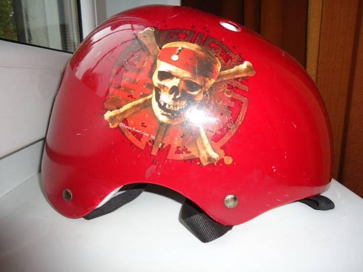 Шлем для экстремальных видов спорта красный (55-57см)