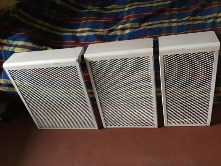 Экраны для чугунных батарей металлические