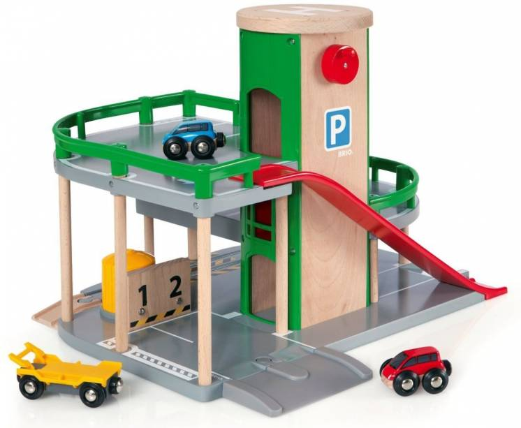 Brio (брио) 33204 деревянная железная дорога парковка