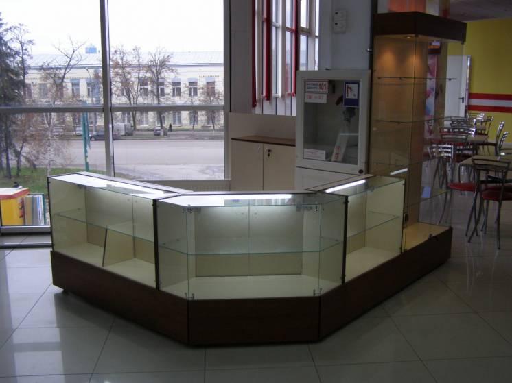 Торговое оборудование,витрины,прилавки,стеллажи,горки,мебель