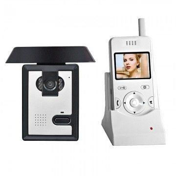 Беспроводной цветной видеодомофон BSE-02-1C-1M комплект для дома офиса