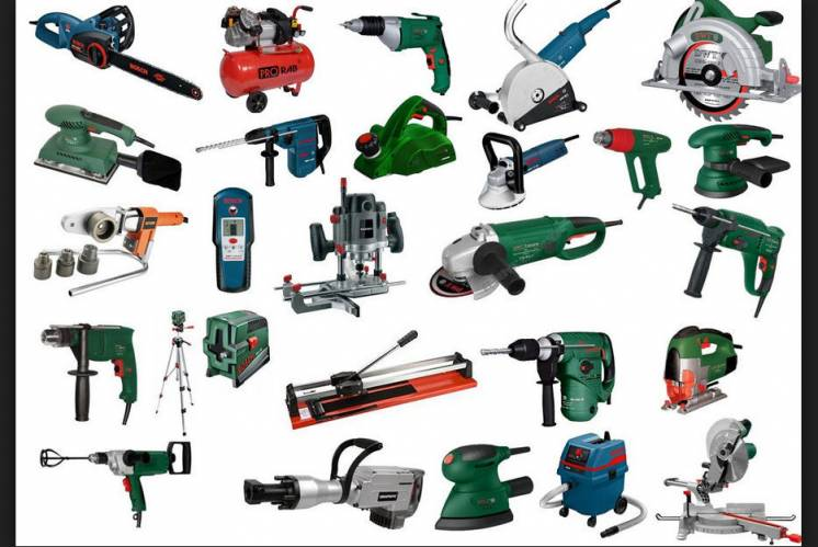 Большое количество вариантов инструментов во всех ценовых категориях
