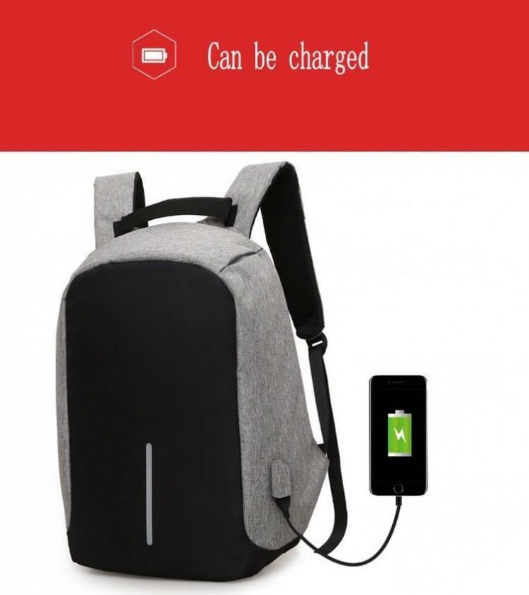 Рюкзак,супер новинка бизнес рюкзак с Usb портом, система анти-вор!