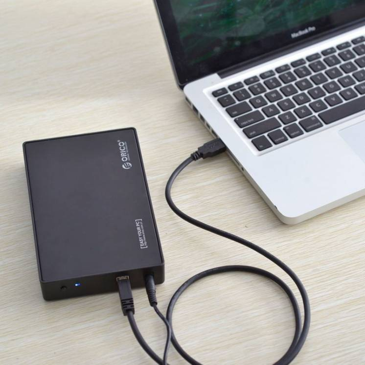 Внешний HDD 3.5 карман Orico бокс USB 3.0 SATA III корпус 3588US3