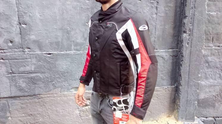 Мотокуртка IXS Riuga всесезонная, непромокаемая, с защитой (мотоэкип)