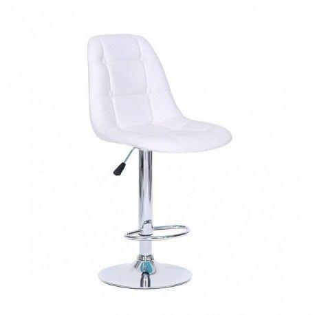 Визажный высокий стул Модель: VS761 белый