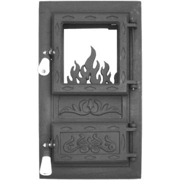 Дверца для печи и барбекю цветок, печная дверца со