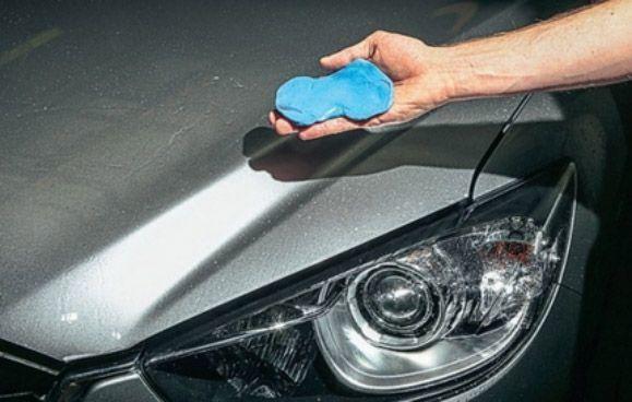 Синяя (голубая) глина 3м для очистки кузова авто