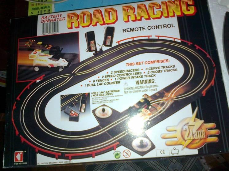 Игровой автотрек Road Racing