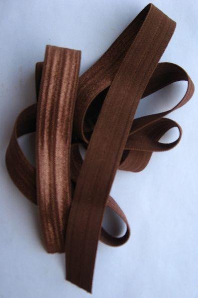 бейка косая стрейч коричневая, розовая, 1 м