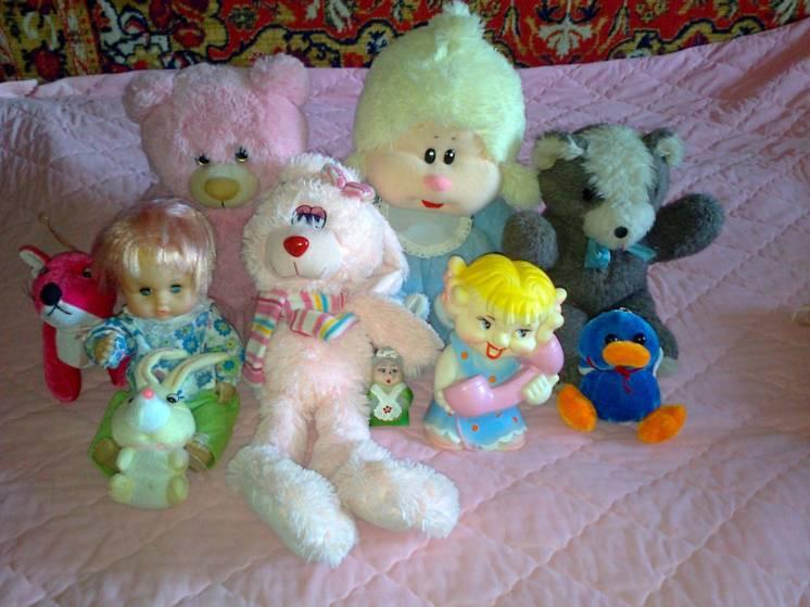 Куклы советские и 90-х годов