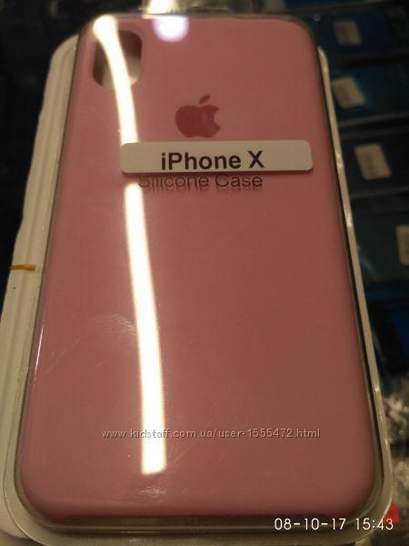 Чехол оригинальный iPhone X Soft Touch High copy 6. 6S. 6s plus.7.7+