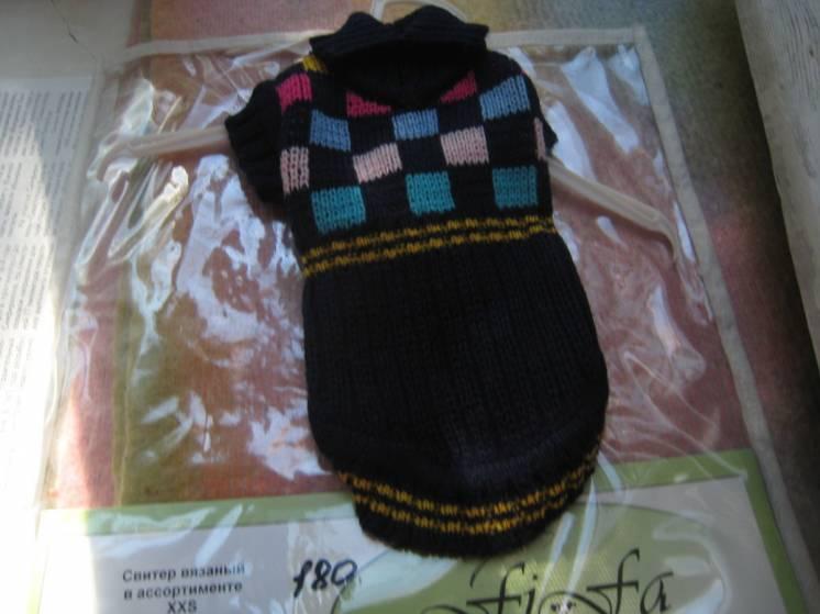 свитер новый теплый для Вашего любимца продам
