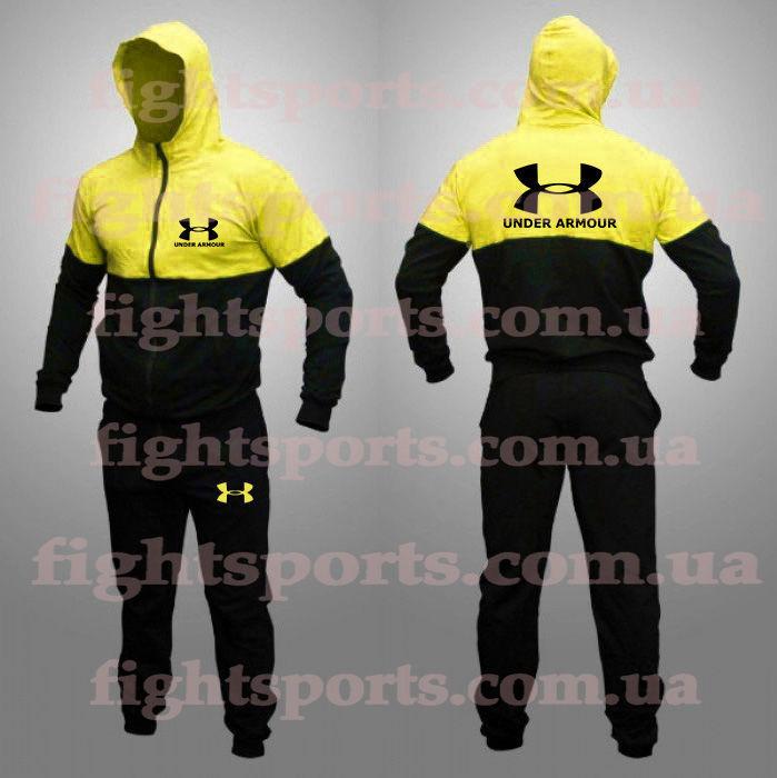 Спортивный костюм UNDER ARMOUR BLACK OLD - оплата при получении!