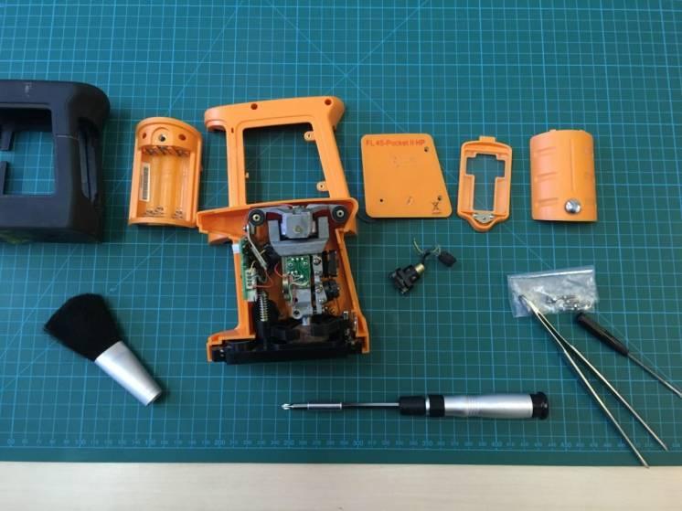Ремонт лазерных нивелиров GEO fennel - FL40 Pocket II HP FL40 3-Liner