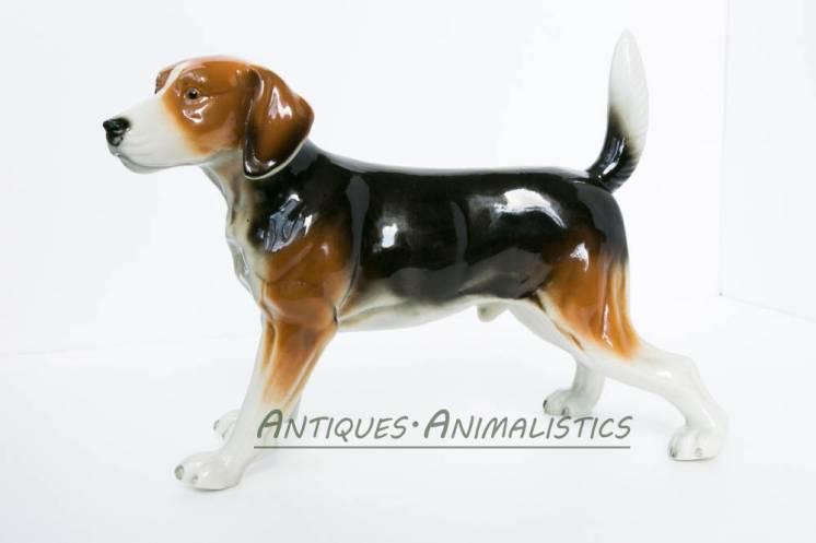 фарфоровая статуэтка Собака. Neundorf Германия