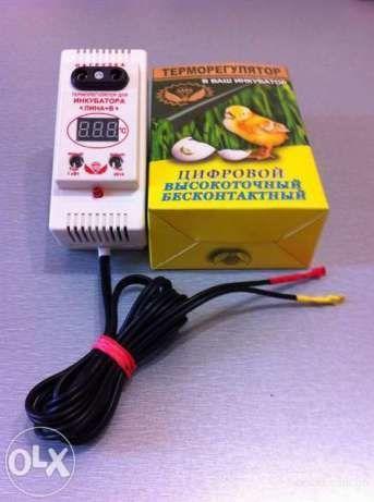 Терморегулятор для инкубатора лина 1,0квт, тци-1000. качественный.